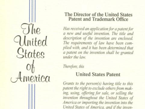 美国发明专利