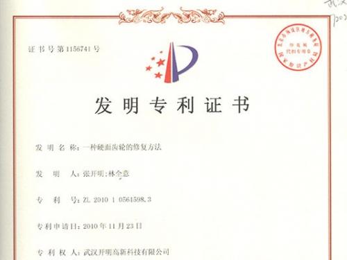 国家发明专利(已授权)