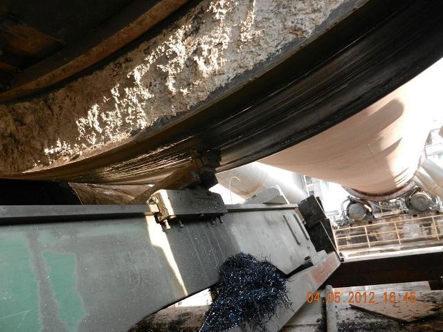轮带·拖轮、车削、筒体的制作与安装