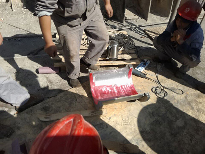 巴氏合金轴瓦的浇铸及修复(现场和瓦、现场刮瓦)