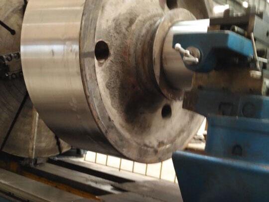 托轮修复加工制作