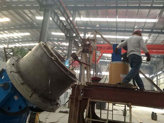 自动焊接湘钢大型铜螺母