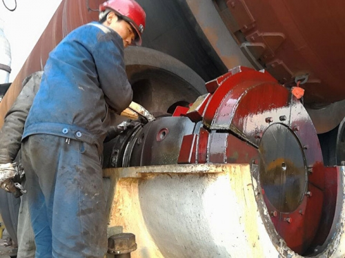 球磨机和电机轴瓦的浇铸及制作、安装、调试