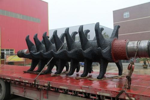 安钢集团信阳钢铁有限责任公司-单辊破碎机转子