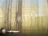 广元海螺水泥有限责任公司回转窑托轮车削维修